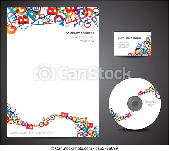 Design template set - csp5776099