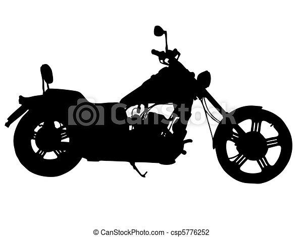 Bike silhouette - csp5776252