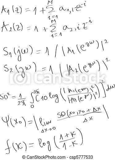 Formulas - csp5777533