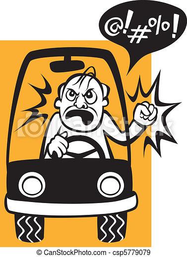 Drivers Beware! - csp5779079