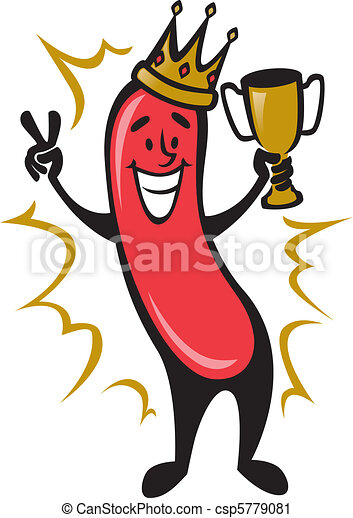 Hot Dog Champion - csp5779081