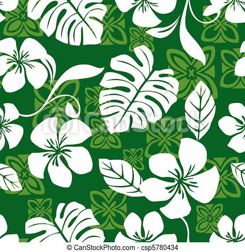 Aloha Friday Hawaiian Shirt Pattern - csp5780434