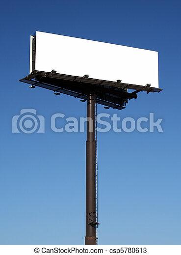 Blank billboard - csp5780613