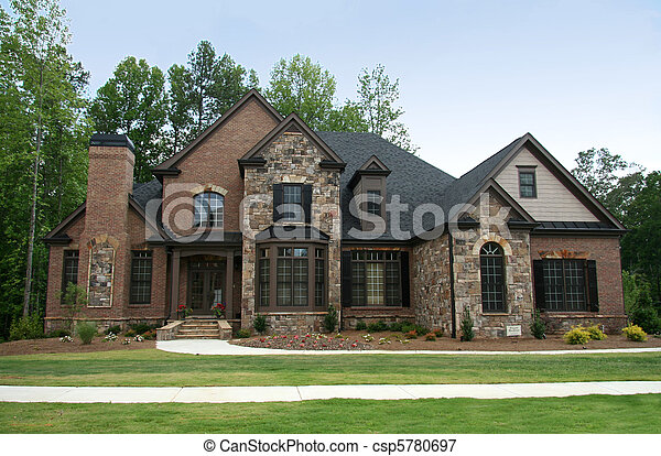 image de sup rieur classe luxe maison compliqu ma onnerie csp5780697 recherchez. Black Bedroom Furniture Sets. Home Design Ideas