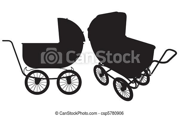 Baby Stroller - csp5780906