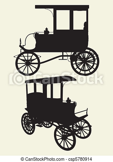 Victorian Cabs Carriage - csp5780914