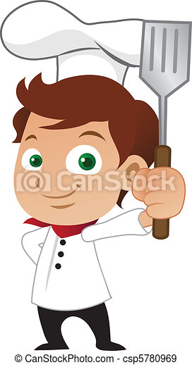 Young male chef - csp5780969