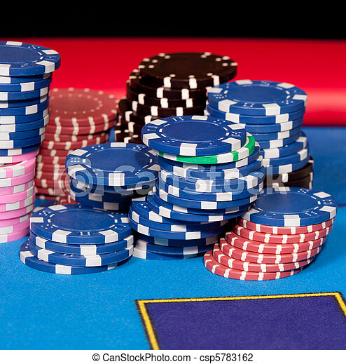 Gambling chips - csp5783162