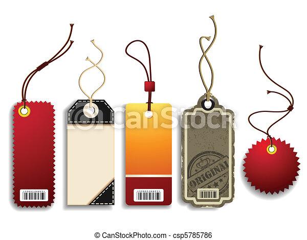 Trendy Price Tags - csp5785786