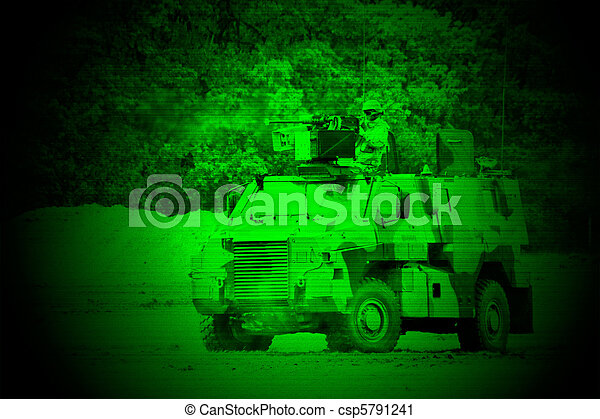 Military night vision - csp5791241