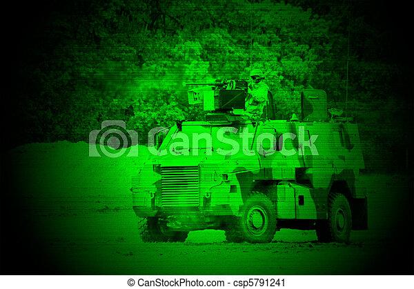 Military night vision - csp5791241