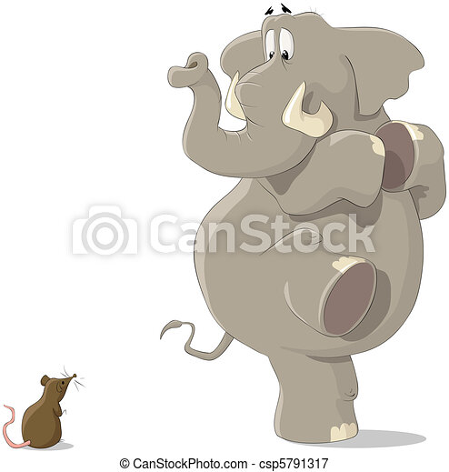 The elephant and the mouse - csp5791317