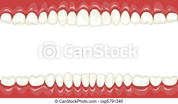 Teeth - csp5791340