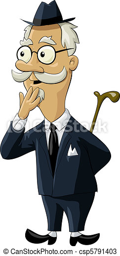 vectors of old man the old man in an old suit  vector free piggy bank pictures clip art piggy bank clipart free
