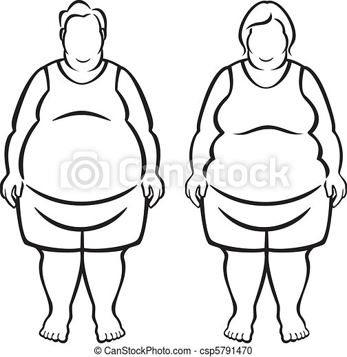 Morbidly Obese People - csp5791470