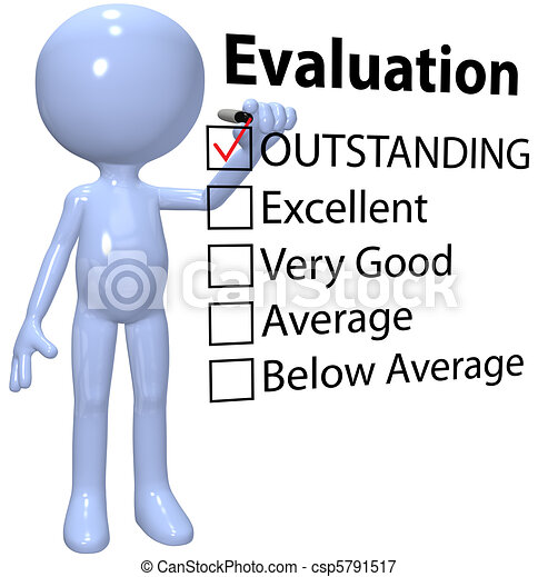 Stock Illustrations Of Manager Check Business Quality Evaluation