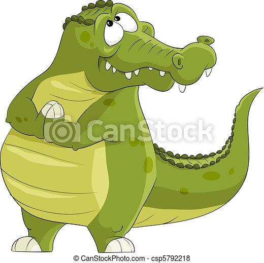 Crocodile - csp5792218