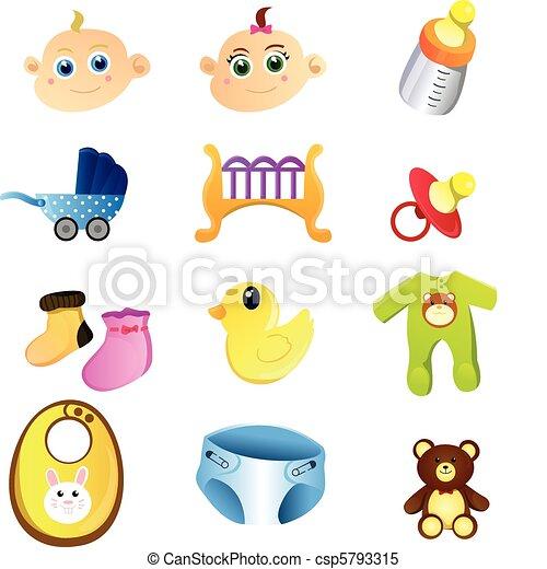 Baby items - csp5793315