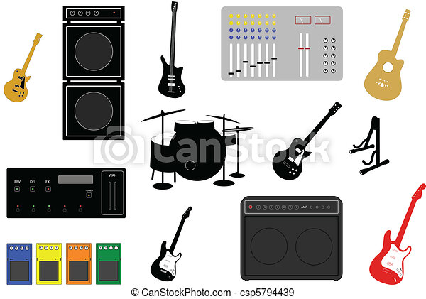 musical instruments - csp5794439