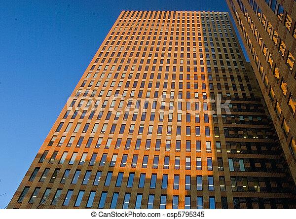 Symphony building, Amsterdam - csp5795345