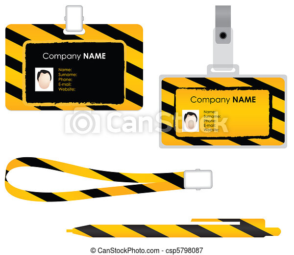 Name tag for id card - special desi - csp5798087