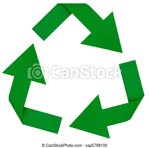 ... stock clipart icons, logo, line art, pictures, graphic, graphics: canstockphoto.com/green-recycle-symbol-5798100.html