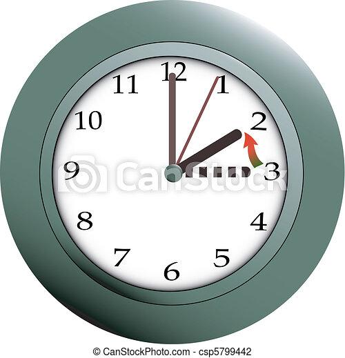 Daylight saving time - csp5799442