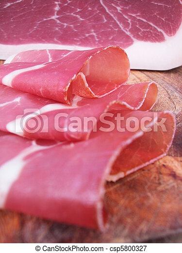 Sliced Parma ham - csp5800327
