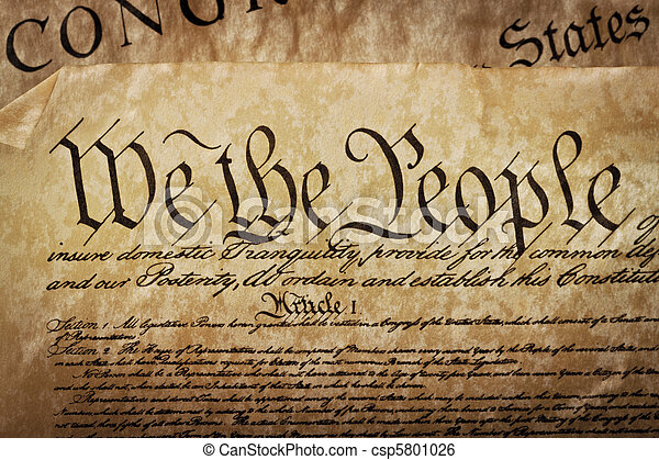Us Constitution Free Clipart
