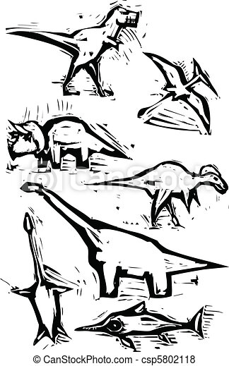 Dinosaur Spot Images - csp5802118