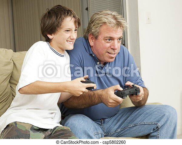 Video Game Fun - csp5802260