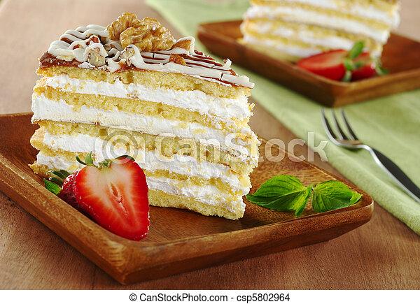 Nut Cake - csp5802964