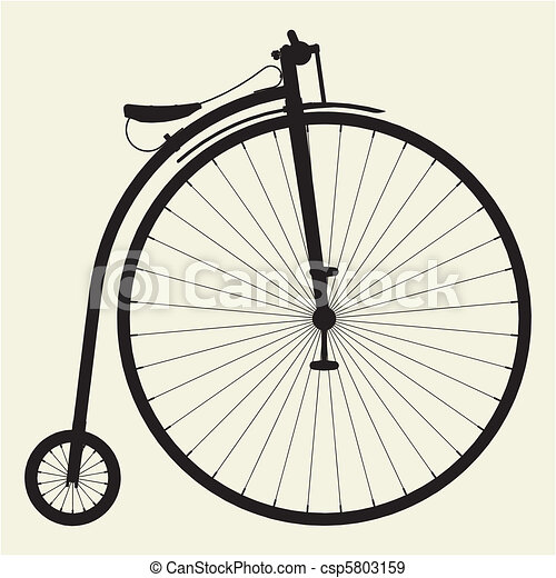 Penny-Farthing Bicycle - csp5803159