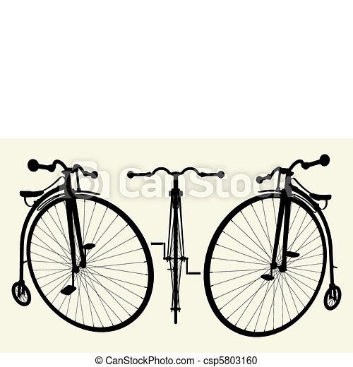 Penny-Farthing Bicycle - csp5803160