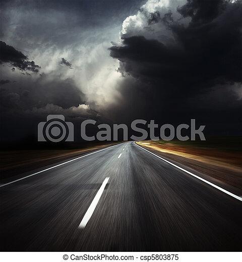 Road - csp5803875