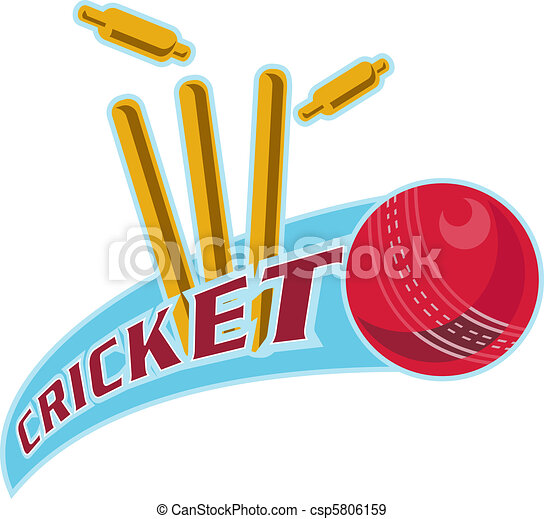 Bowling Cricket Drawing Cricket Ball Bowling Wicket