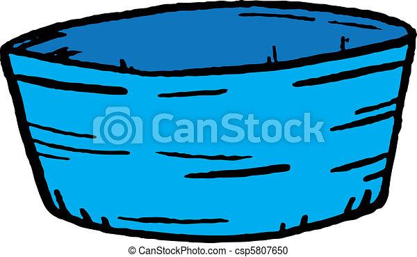 Schüssel clipart  Stock Illustration von schüssel - Bowl, ow, wasser csp1913459 ...