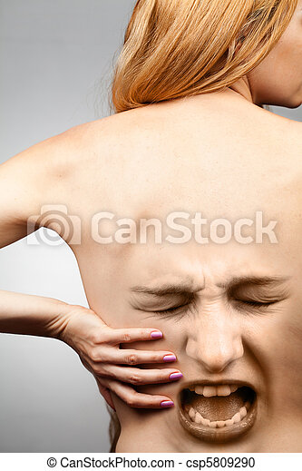 Back pain concept - csp5809290