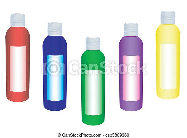 Set of foam for a bathroom - cs