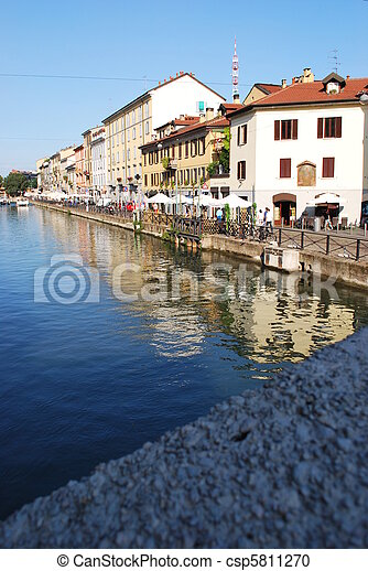 Naviglio, Milan - csp5811270