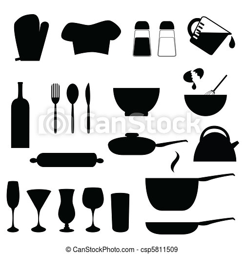 Vecteurs Eps De Ustensiles Cuisine Various Ustensiles