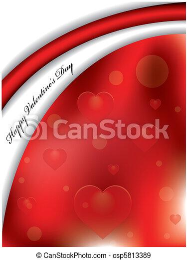 Happy Valentine's day - csp5813389
