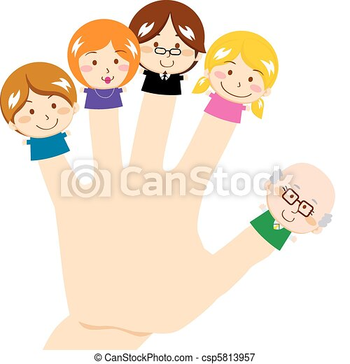 Finger Family - csp5813957