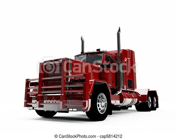 Clip art de am ricain camion csp5814212 recherchez des clipart des illustrations des - Camion americain dessin ...