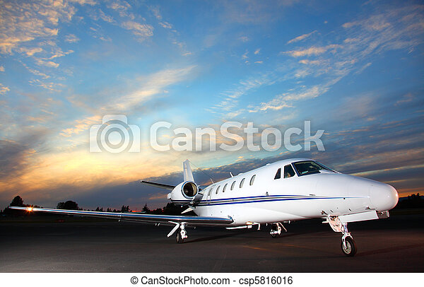 Private jet - csp5816016