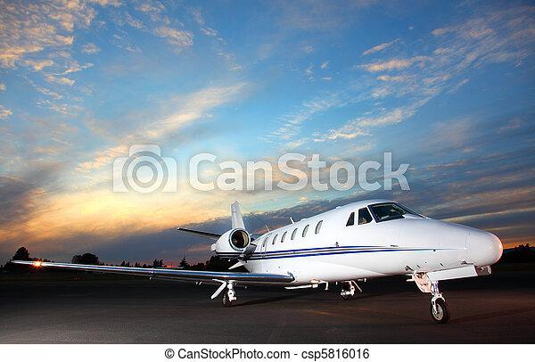 Private jet - csp5816016