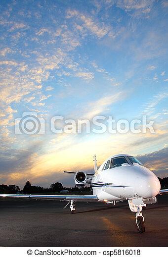 Private jet - csp5816018