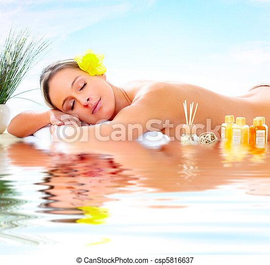 spa massage - csp5816637