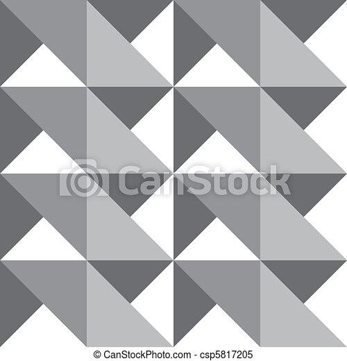 seamless shadow peaks vector - csp5817205