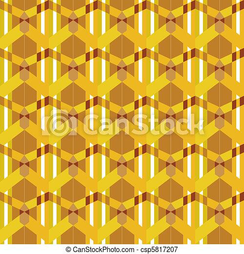 seamless rusted orange geometry - csp5817207